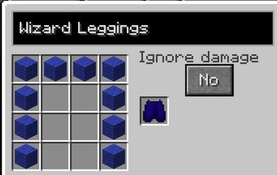 Wizard leggings recipe