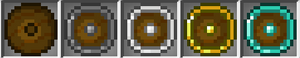 Round shields icons