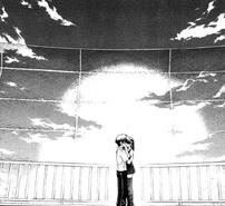 Makoto and Sekai making out