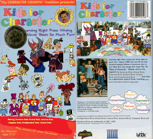 File:Kids For Character VHS Front and Back.png