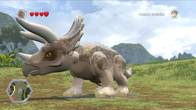 File:Jurassic World Lego Triceratops.jpg