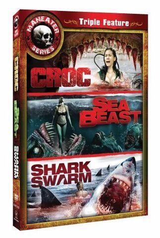 File:Maneater Series Triple Feature Croc, Sea Beast, Shark Swarm.jpg
