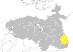 Nanzhao provinces map Guangdong