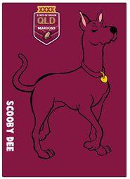 ScoobyDee QLD Maroons