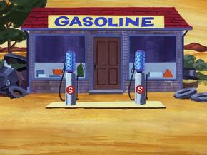 Gas station (The Frickert Fracas)