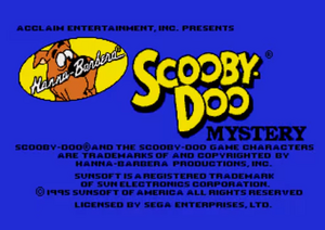 Mystery title card