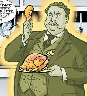 Ghost of President Taft