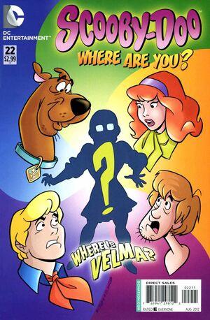 WAY 22 (DC Comics) front cover
