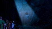 Bear Cave sewer drain
