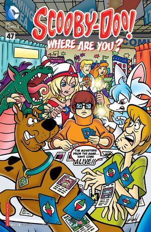 WAY 47 (DC Comics) front cover