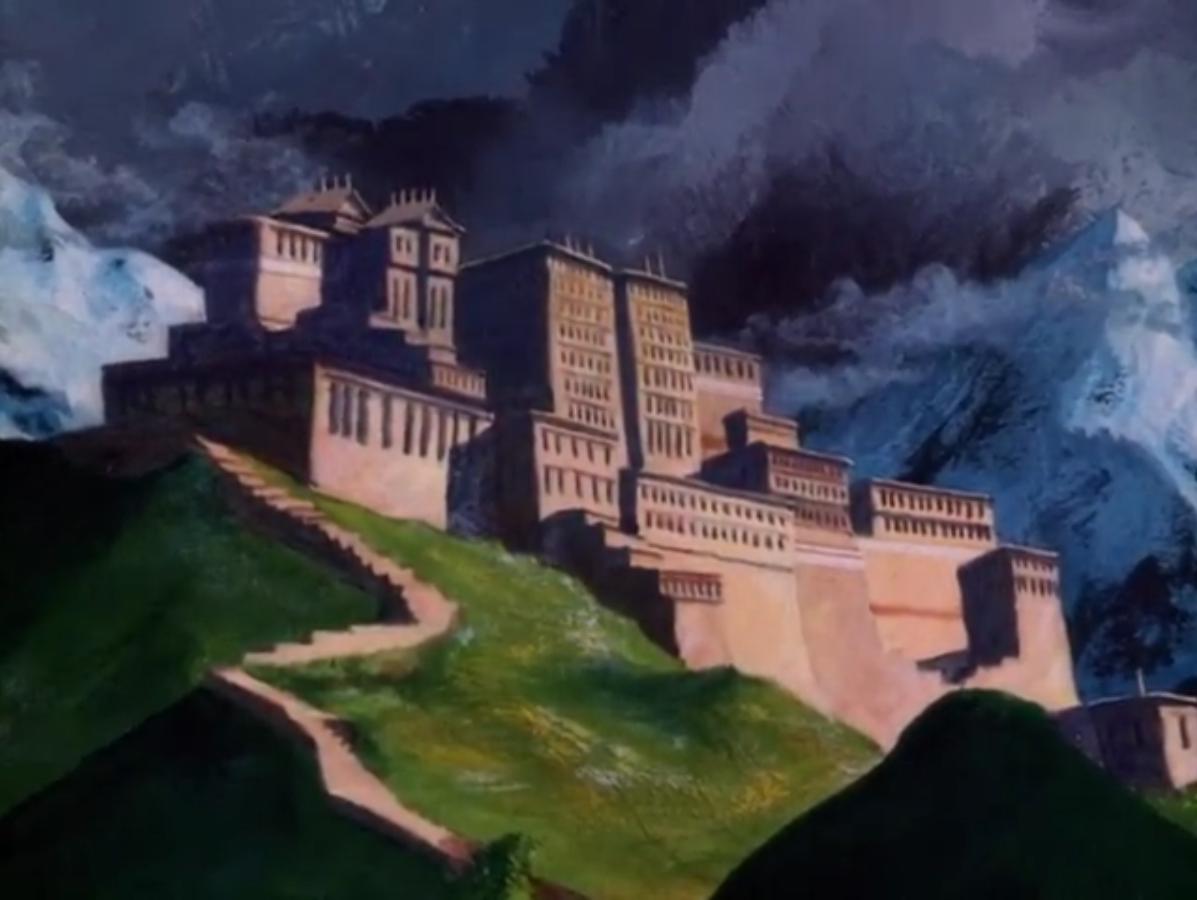 Cat man's palace