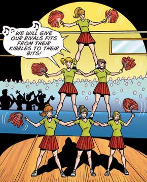 Cheerleaders (School Spirit)