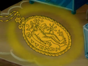 Cat Creature Medallion