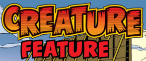 Creature Feature title card