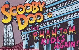 The Phantom Rides Again! title card