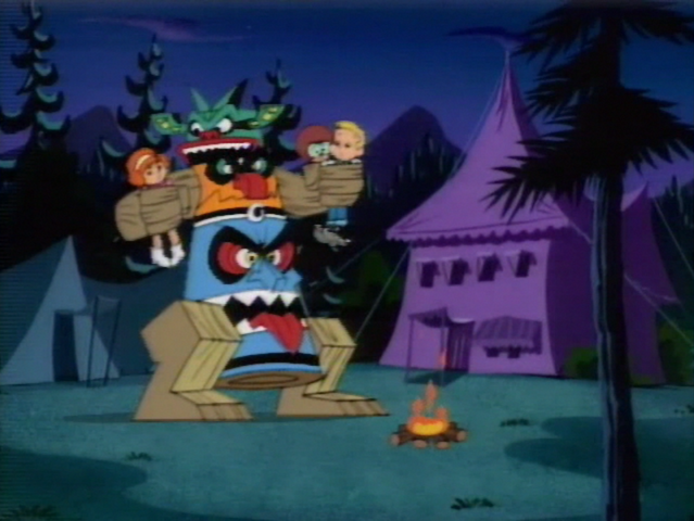 File:Totem Monster holds Freddy and girls.png