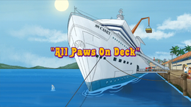 All Paws on Deck title card