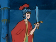Shaggy as Mark Antony