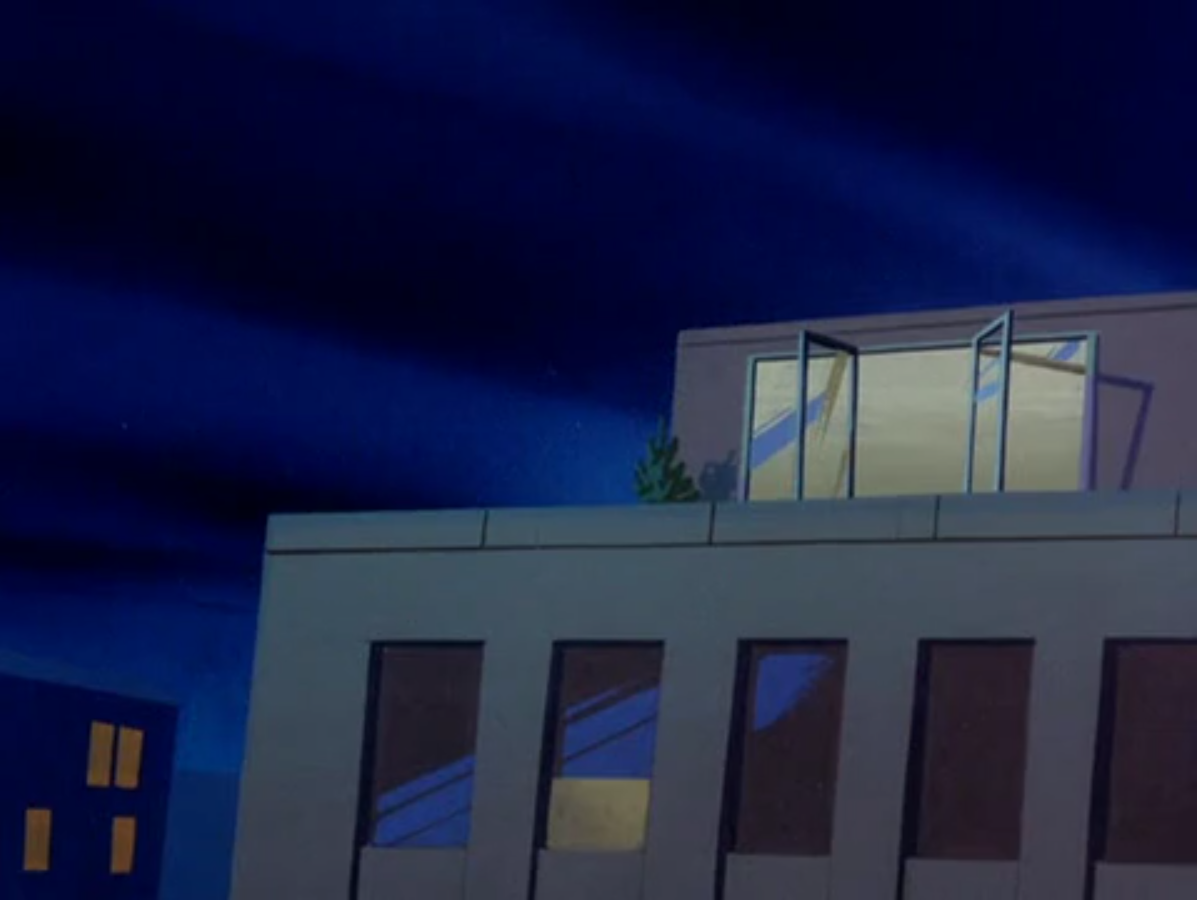 Red Sparks and Jim Rivets's penthouse