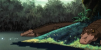 Present-day alligators (Scooby-Doo on Zombie Island)