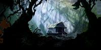 Auntie Mahina's cabin