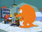 Cheese Monster ties gang