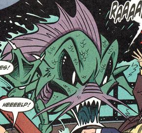 Sea Monster of the Plebian