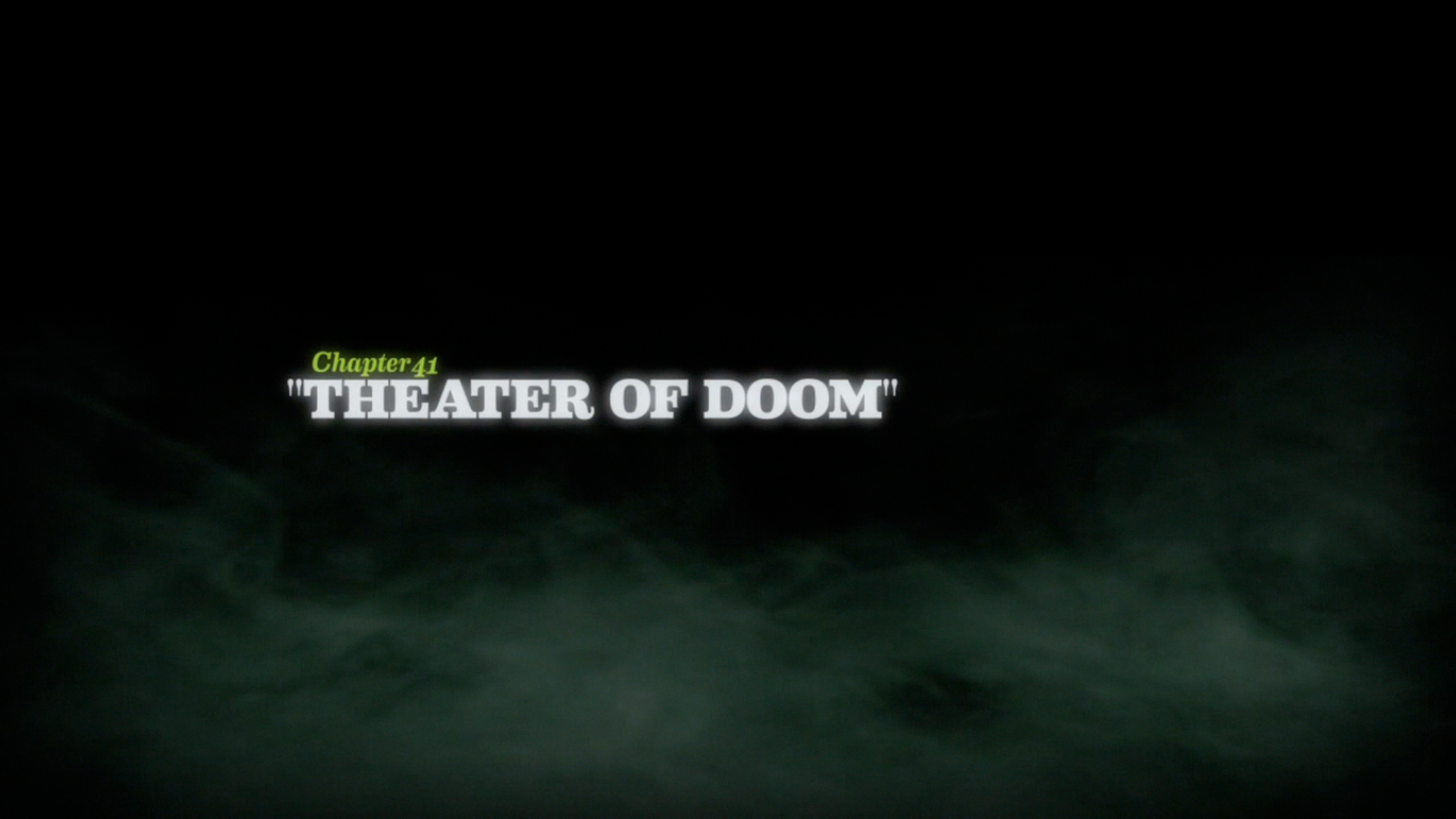 Theater of Doom title card