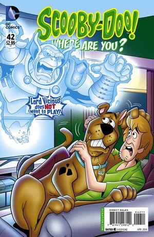 WAY 42 (DC Comics) front cover