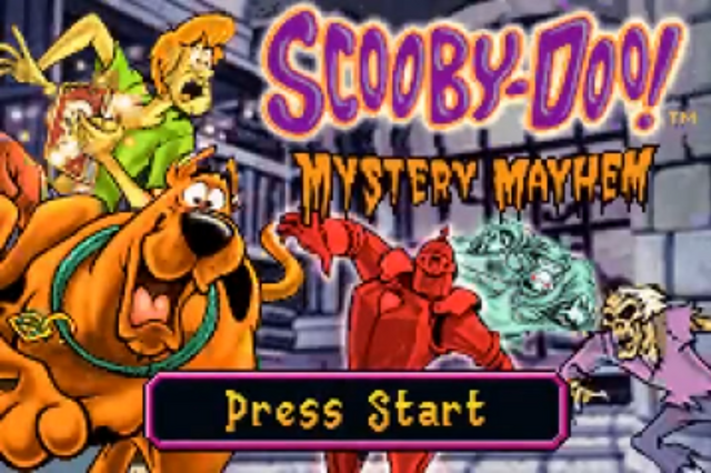 File:Mystery Mayhem title card (GBA).png