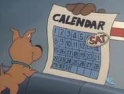 Scoob shows calendar
