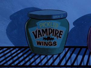 Pickled Vampire Wings