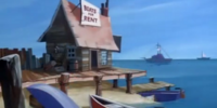 Boat rental shop (The Lochness Mess)