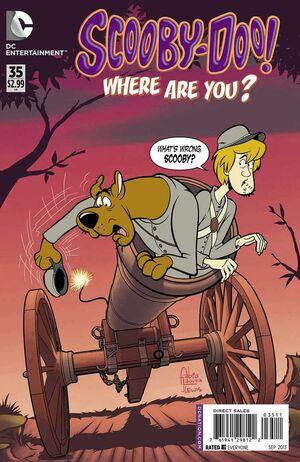 WAY 35 (DC Comics) front cover