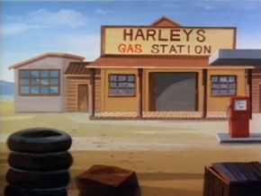 Harley's Gas Station