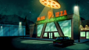 Plan P-izza from Outer Space
