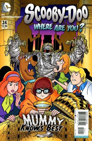 WAY 24 (DC Comics) front cover