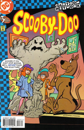 Scooby-Doo (DC Comics) issue 3 cover