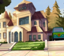 Fred Jones's mansion (Scooby-Doo! and the Beach Beastie)
