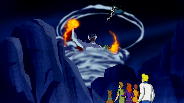 File:Yowie Yahoo makes a spectacle outside cave.png