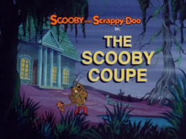 The Scooby Coupe title card