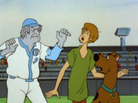 Shag and Scoob with the Ghost of Casey O'Reilly