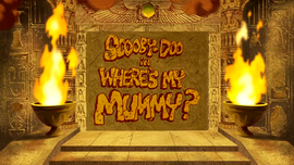 Where's My Mummy title card