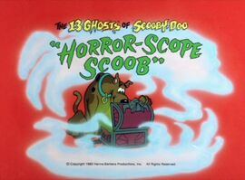 Horror-scope scoob title card