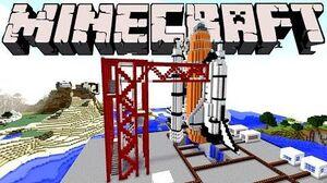Minecraft Space Shuttle