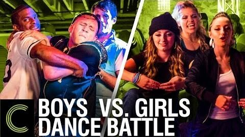 DANCE BATTLE Boys Vs Girls - ft