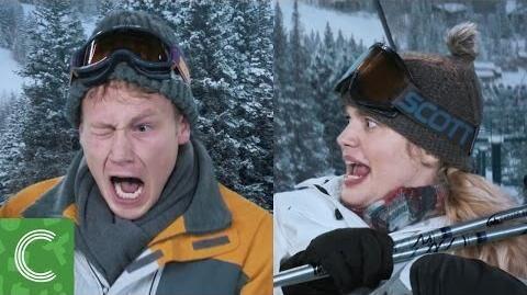 Ski Slope Scare
