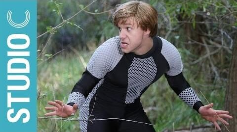 Behind the Scenes - The Hunger Games Musical Mockingjay Parody