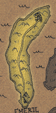 Isle of emeril map