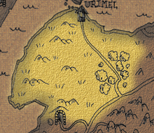 Downs of urimel map